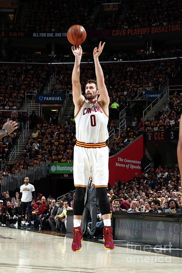 Kevin Love Photograph by Nathaniel S. Butler