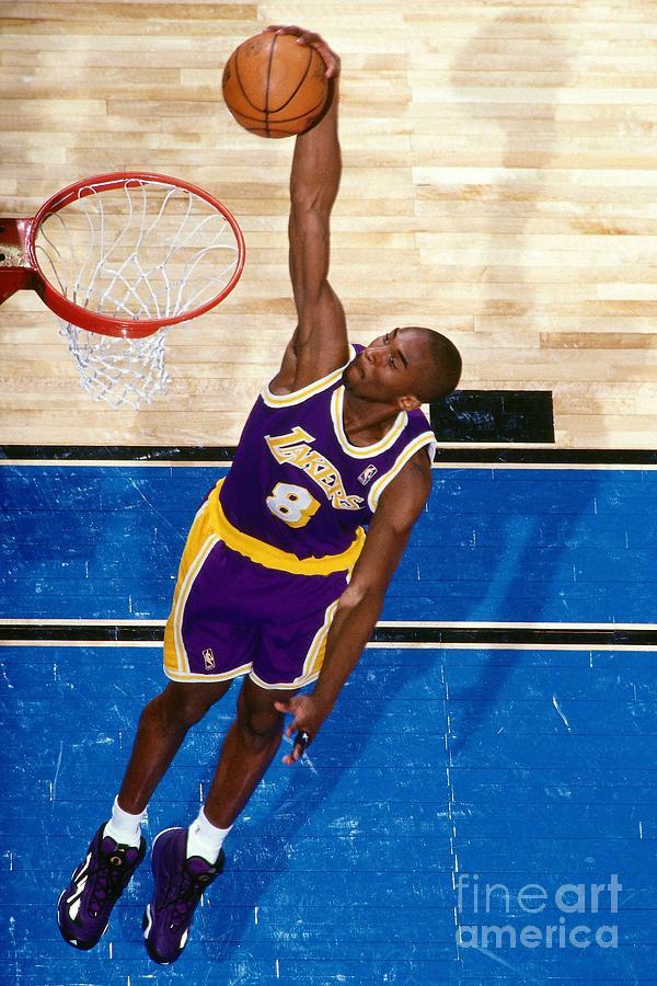 Kobe Bryant Photograph by Nathaniel S. Butler