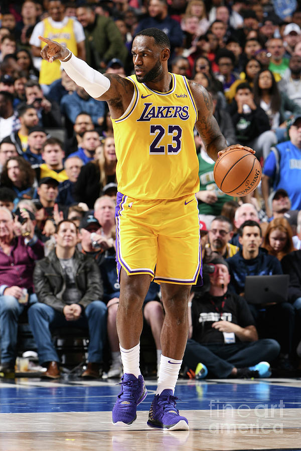 Lebron James Photograph by Glenn James