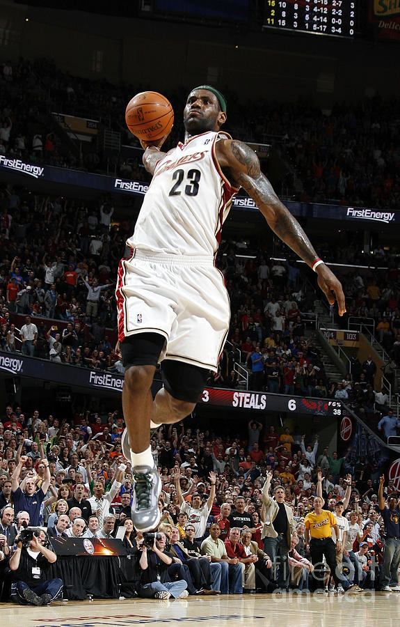Lebron James Photograph by Gregory Shamus