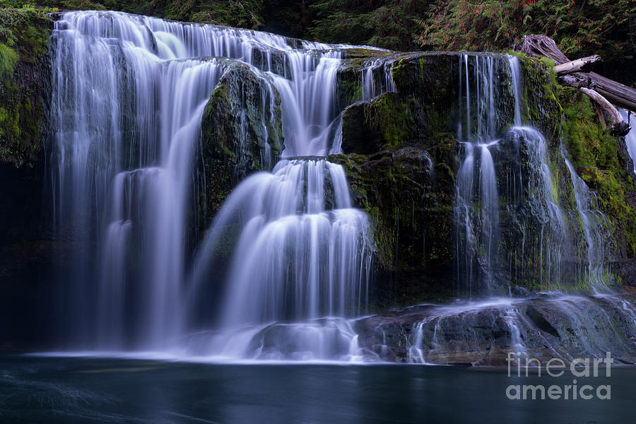 Lewis River Falls by Keith Kapple