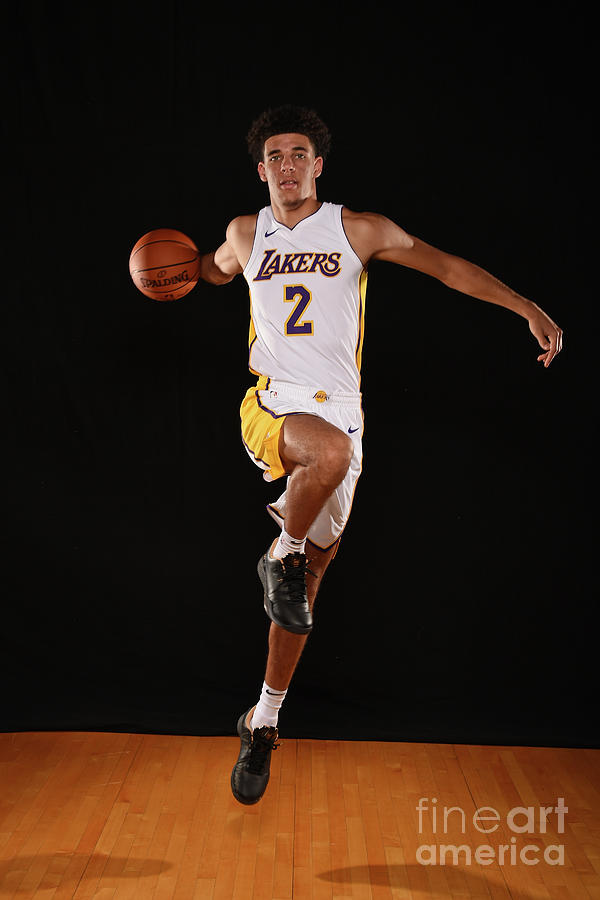 Lonzo Ball Photograph by Brian Babineau