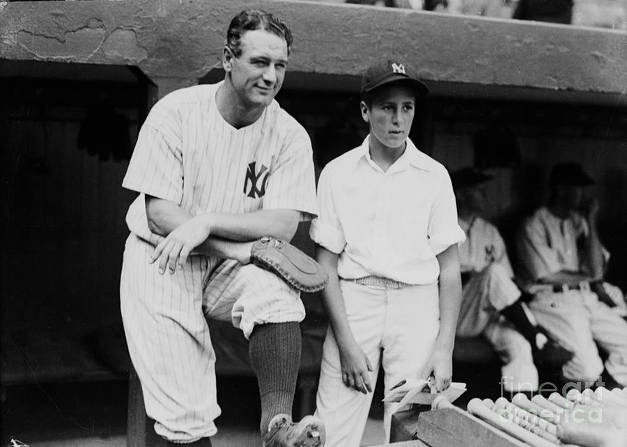 Lou Gehrig Photograph by Kidwiler Collection