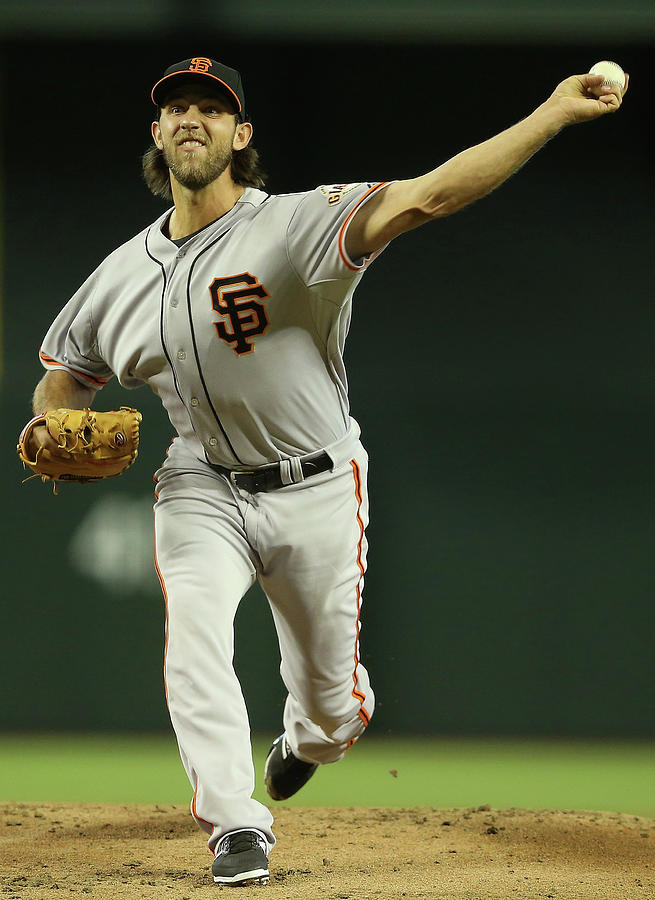 Madison Bumgarner Photograph by Christian Petersen