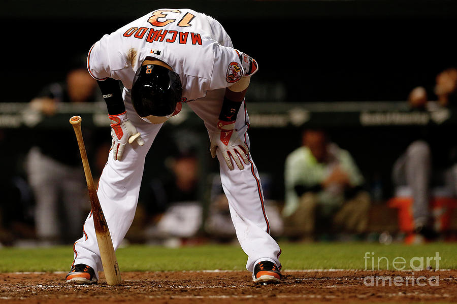 Manny Machado Photograph by Matt Hazlett