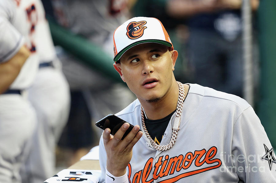 Manny Machado Photograph by Rob Carr