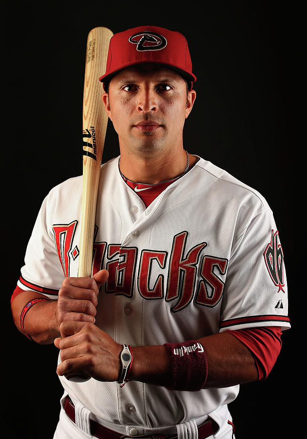 Martin Prado Photograph by Christian Petersen