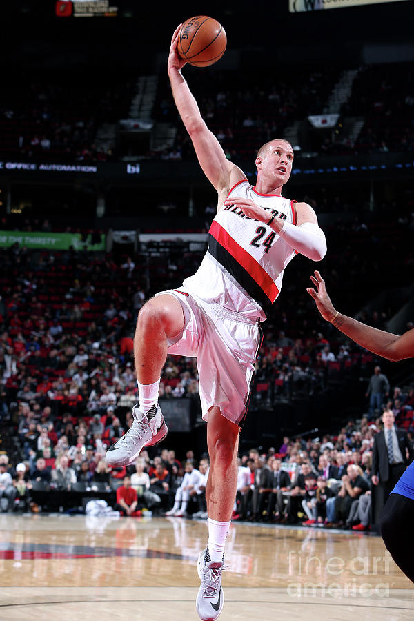 Mason Plumlee Photograph by Sam Forencich