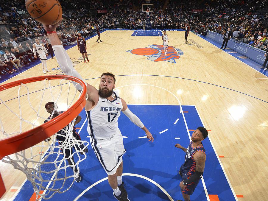 Memphis Grizzlies v New York Knicks Photograph by Jesse D. Garrabrant