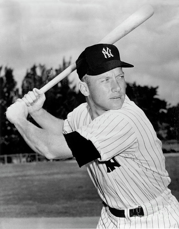 Mickey Mantle Photograph by National Baseball Hall Of Fame Library