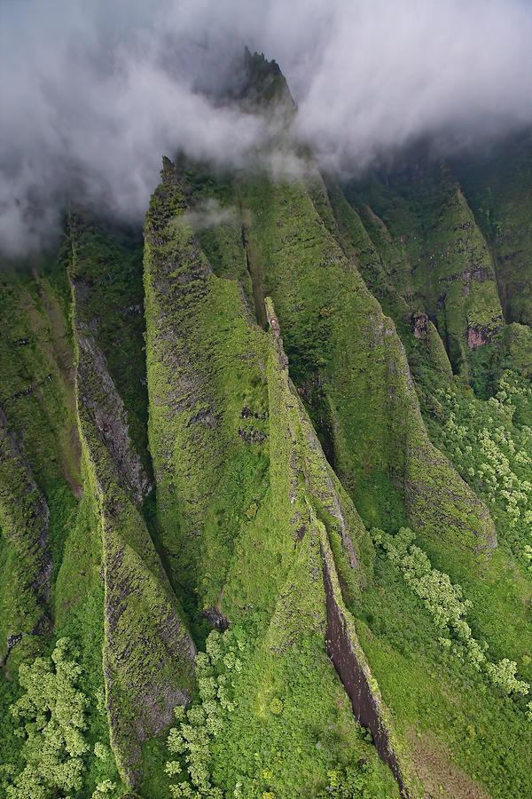 Na Pali Clouds by Steven Lapkin