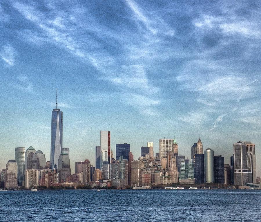 New York, Manhattan landscape by Marianna Mills