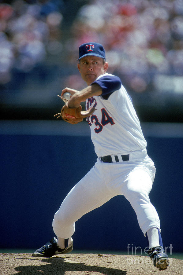 Nolan Ryan Photograph by Louis Deluca