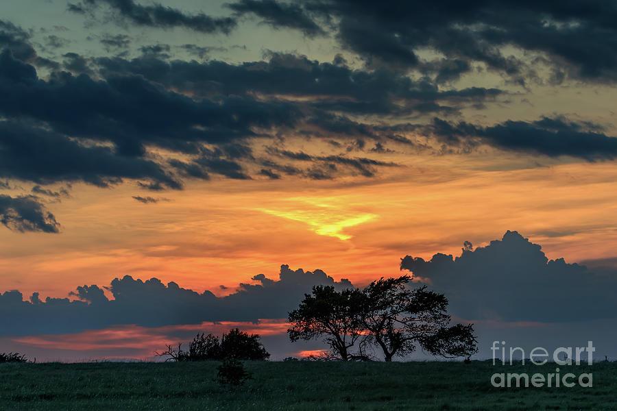 Oklahoma Sunset Photograph