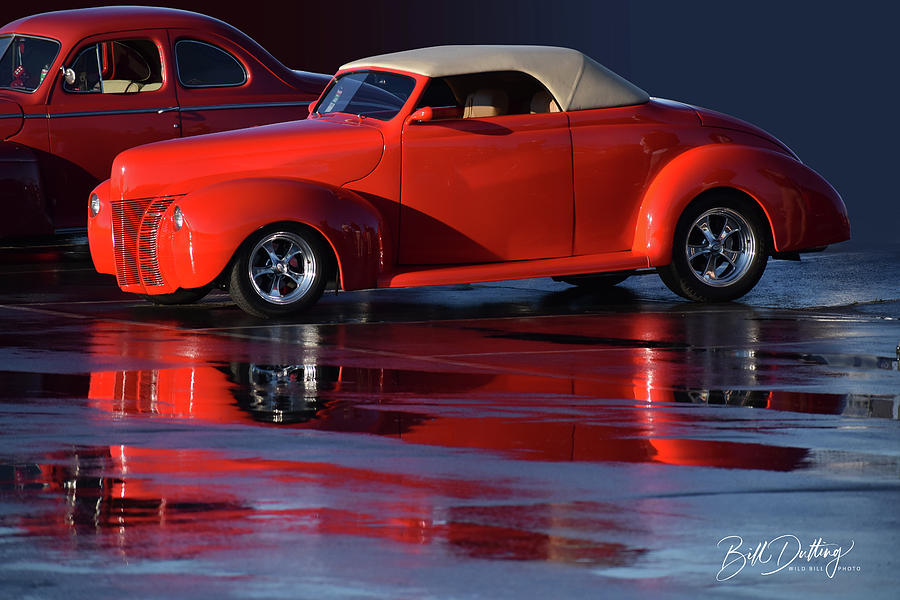 2 old Fords by Bill Dutting