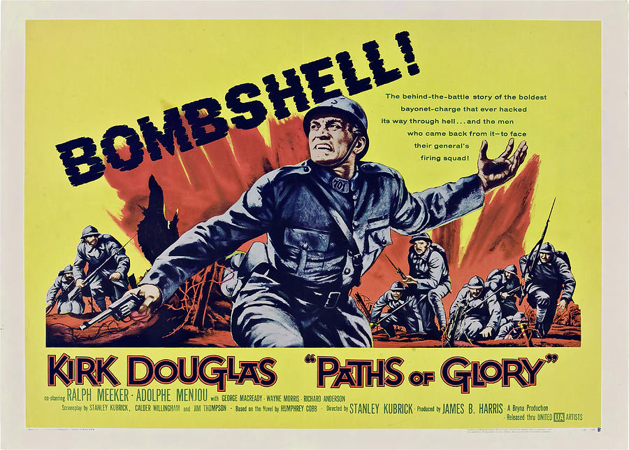 paths Of Glory, With Kirk Douglas, 1957 Mixed Media