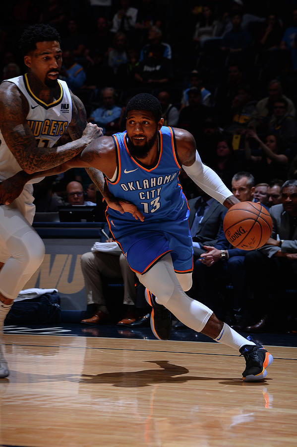 Paul George Photograph by Bart Young
