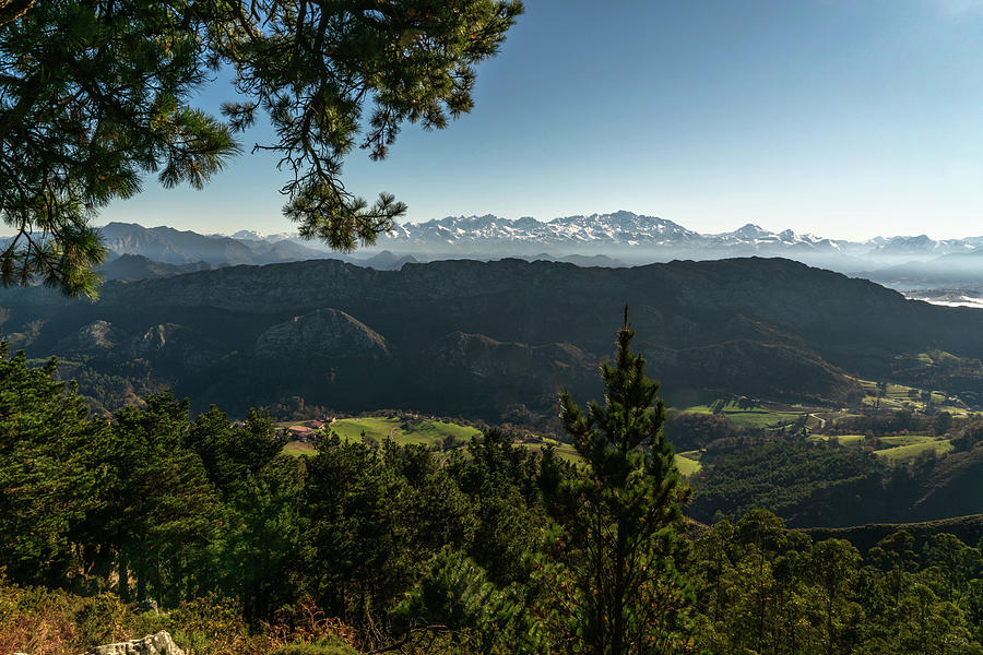 Mountain Photograph - Peaks of Spain by Ric Schafer
