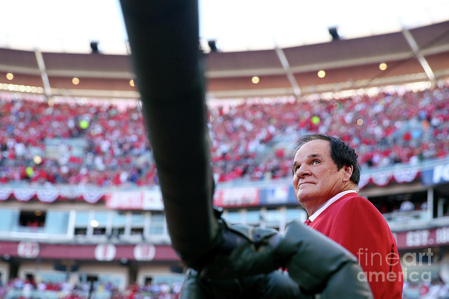 Pete Rose Photograph by Elsa