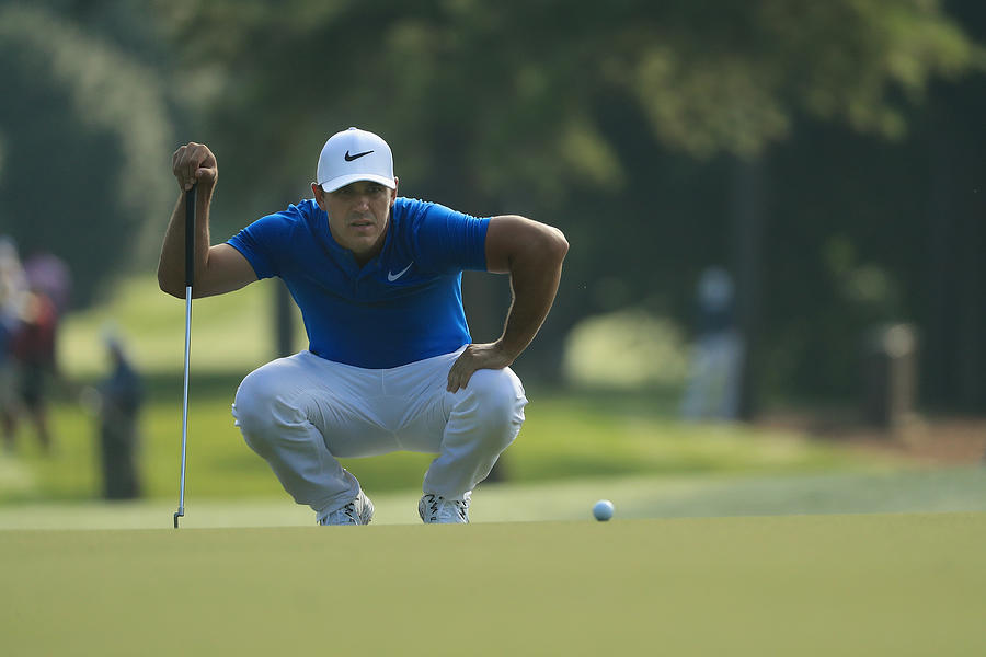 PGA Championship - Round One Photograph by Mike Ehrmann