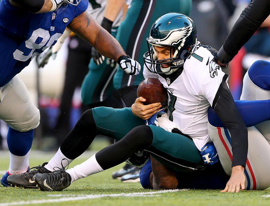 Philadelphia Eagles v New York Giants Photograph by Elsa