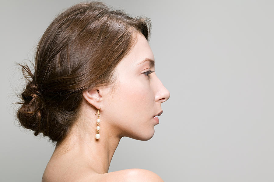 Profile of a young woman Photograph by Image Source