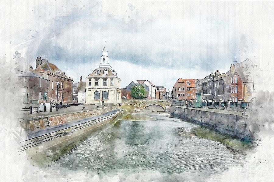 Purfleet Quay, Kings Lynn Painting