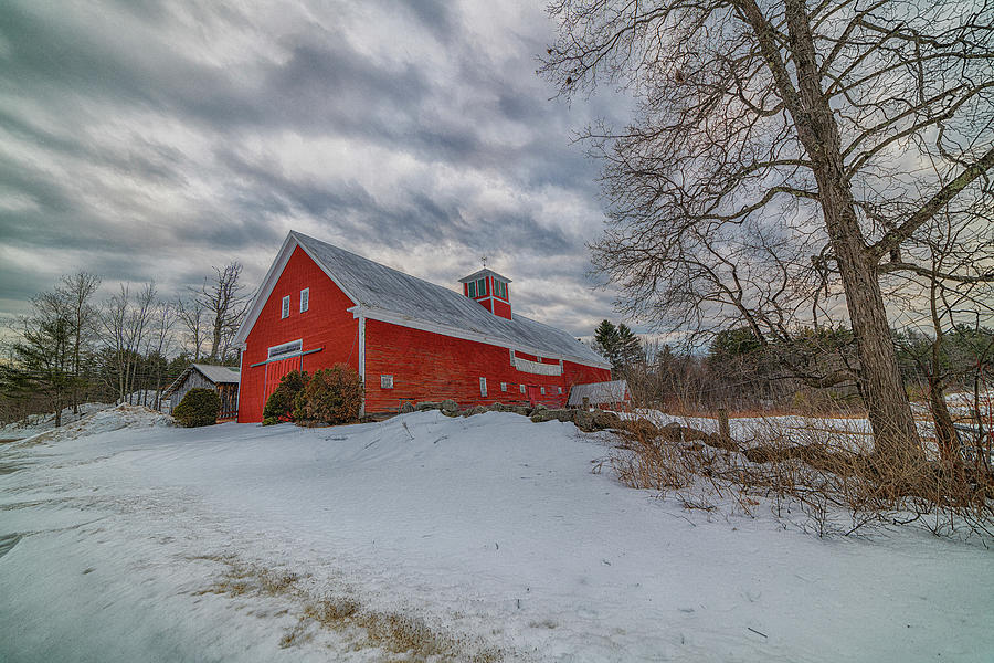 Red Barn Photograph - Red Barn by Bob Doucette