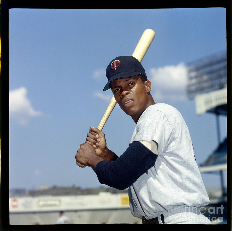 Rod Carew Photograph by Louis Requena