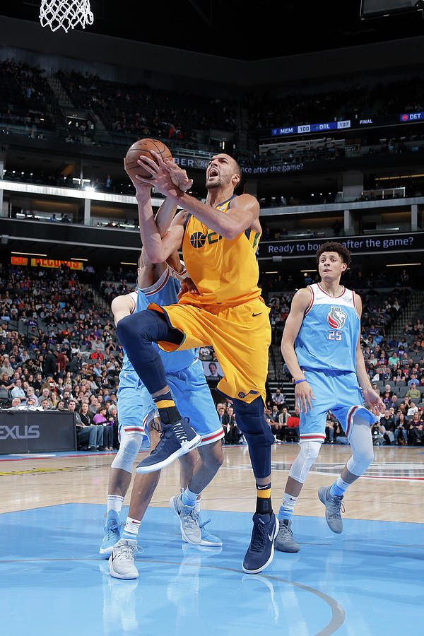 Rudy Gobert Photograph by Rocky Widner