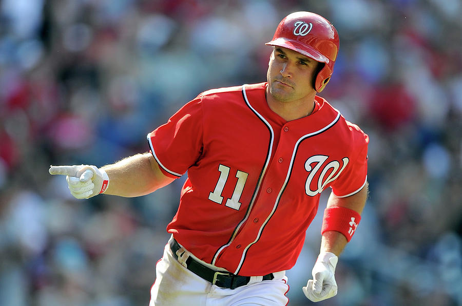 Ryan Zimmerman Photograph by Greg Fiume