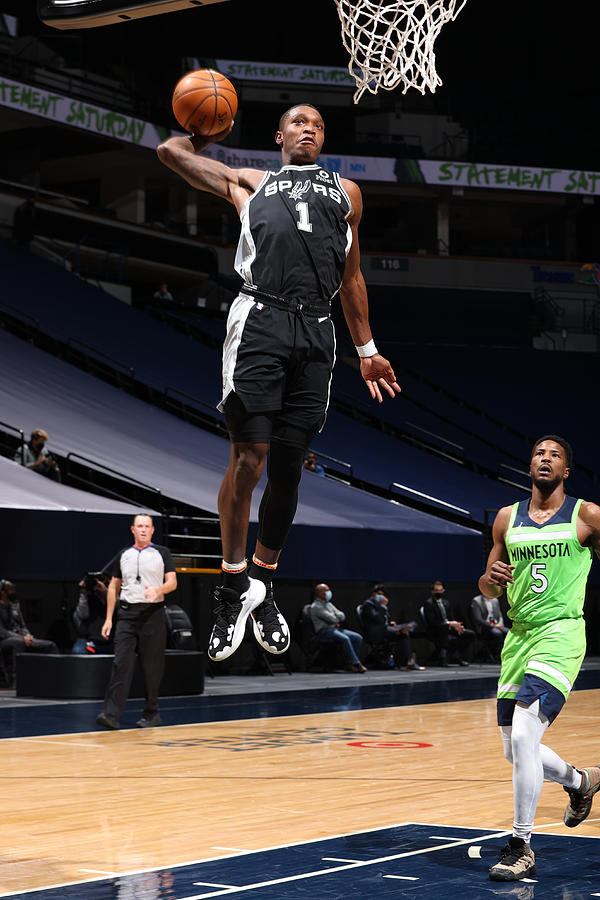 San Antonio Spurs v Minnesota Timberwolves Photograph by David Sherman