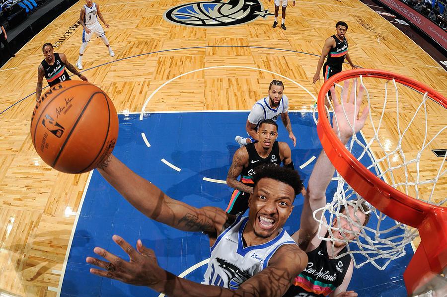 San Antonio Spurs v Orlando Magic Photograph by Fernando Medina
