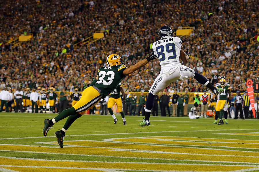 Seattle Seahawks v Green Bay Packers Photograph by Maddie Meyer