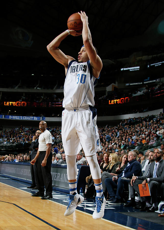 Seth Curry Photograph by Danny Bollinger