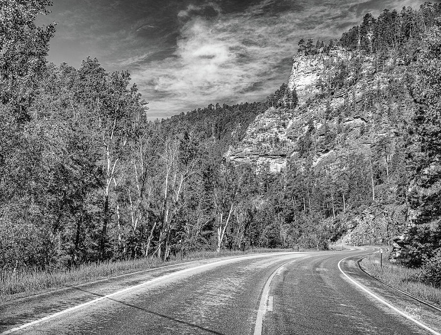 Spearfish Canyon Scenic Byway Photograph