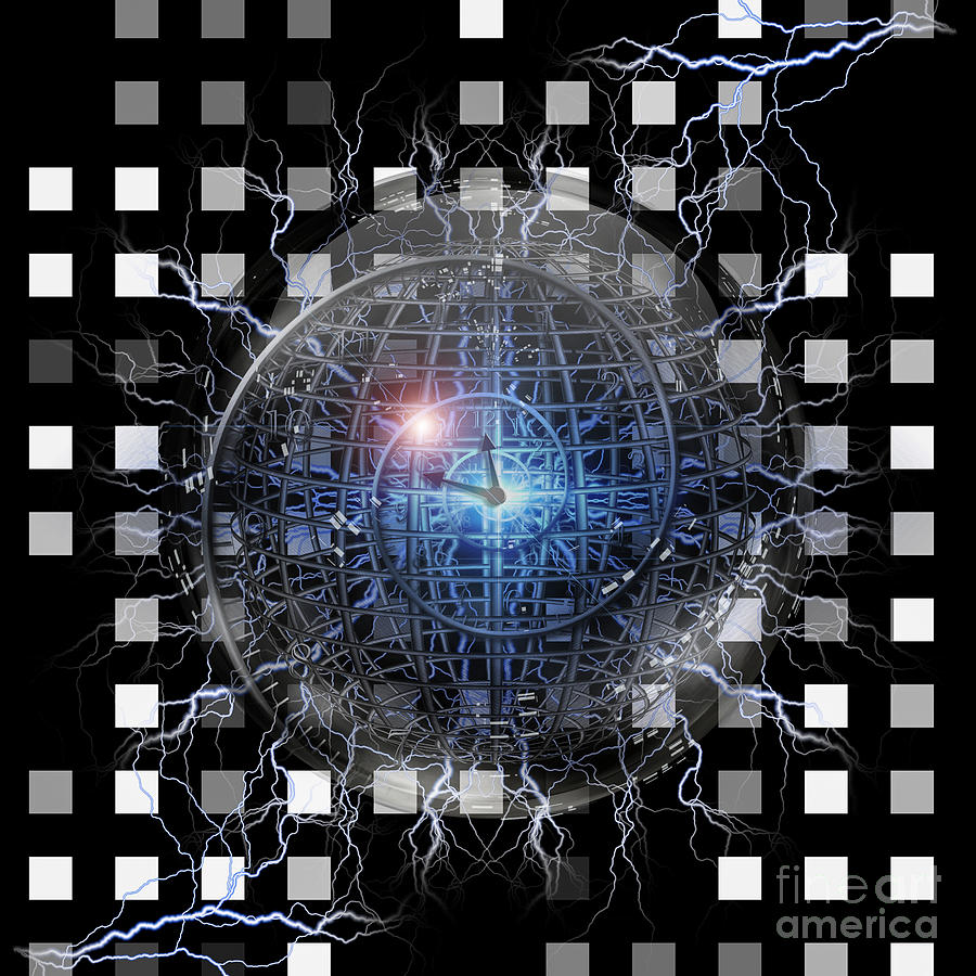 Spiral Of Time Digital Art