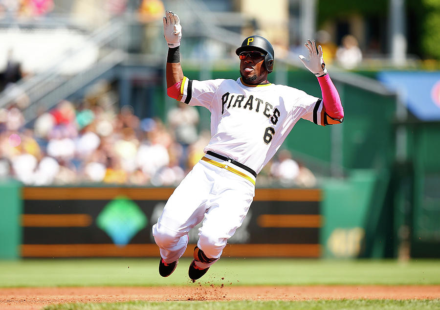 Starling Marte Photograph by Jared Wickerham