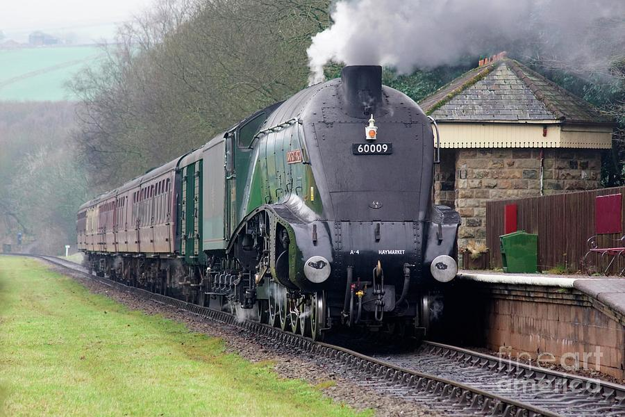 Steam locomotive 60009 Union Of South Africa by David Birchall