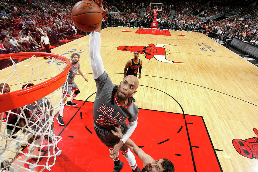 Taj Gibson Photograph by David Sherman