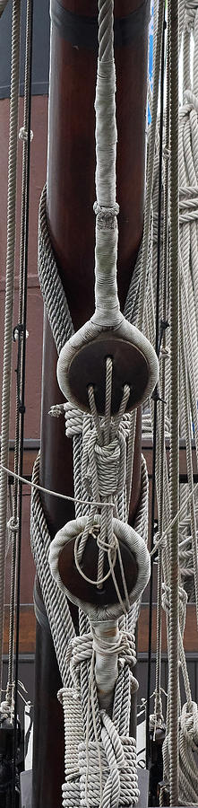 Tall Ship Rigging by Paul Freidlund