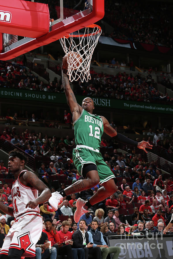 Terry Rozier Photograph by Gary Dineen