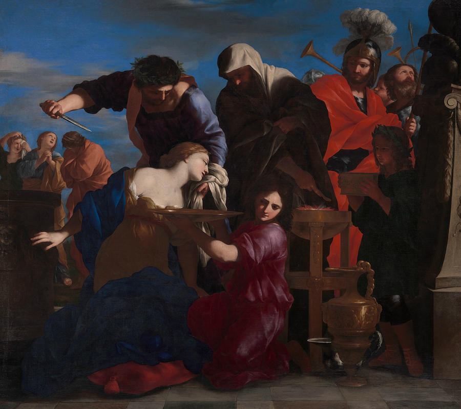 The Sacrifice of Polyxena by Giovanni Francesco Romanelli