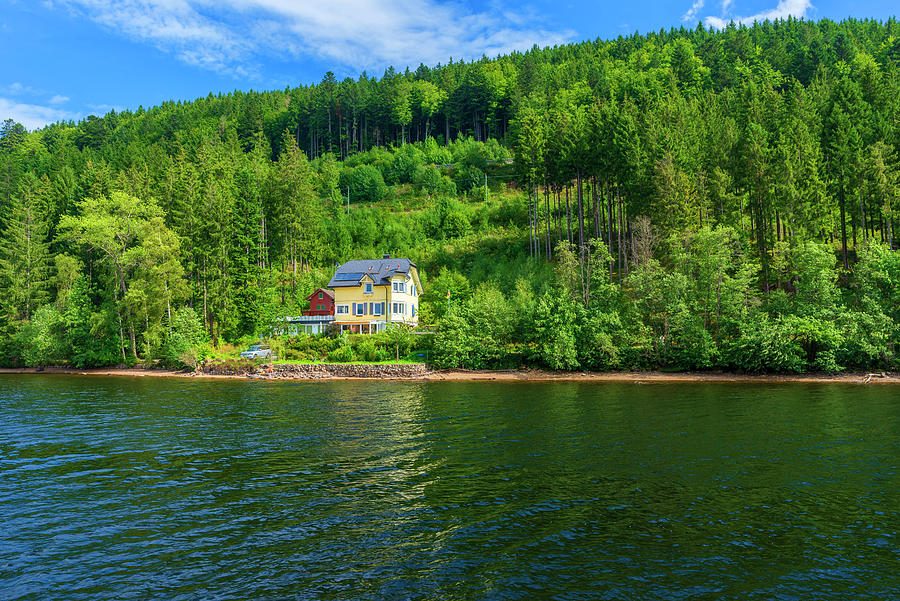 Titisee Lake In The Black Forest Photograph