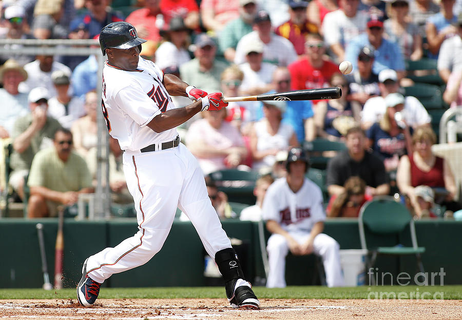 Torii Hunter Photograph by Brian Blanco