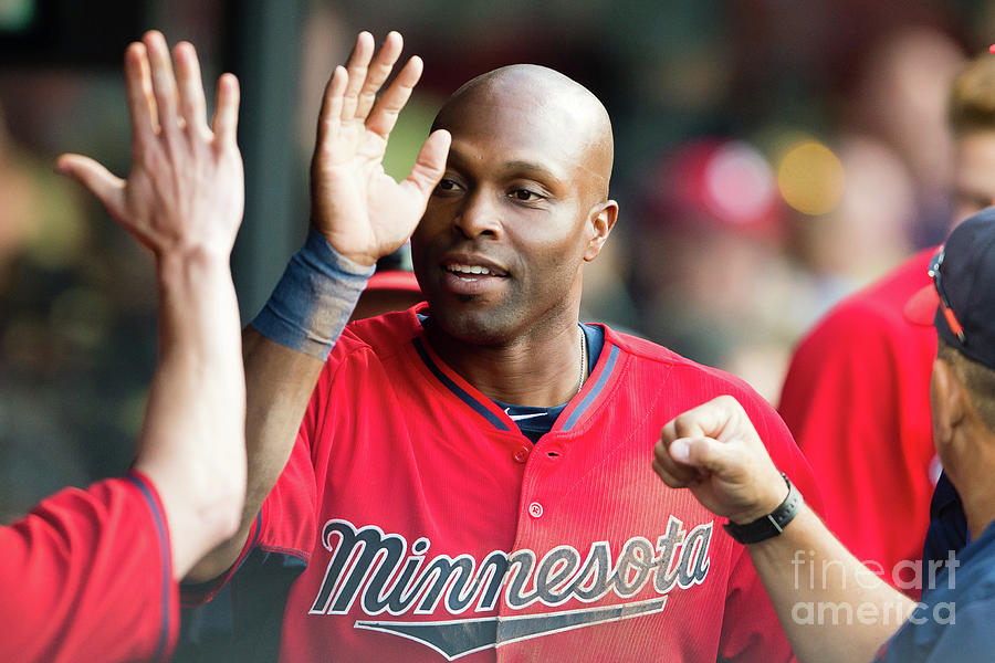 Torii Hunter Photograph by Jason Miller