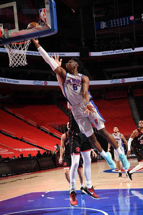 Toronto Raptors v Detroit Pistons Photograph by Chris Schwegler