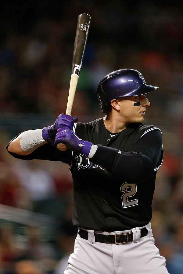Troy Tulowitzki Photograph by Christian Petersen