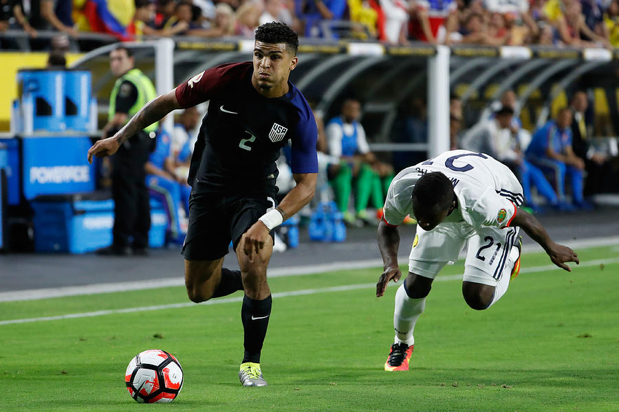 United States v Columbia: Third Place - Copa America Centenario Photograph by Christian Petersen