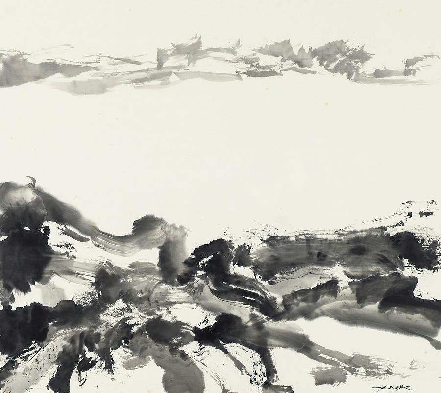 Untitled Painting - Untitled  by Zhao Wu Ji